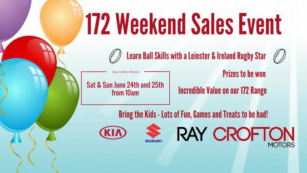 Ray Crofton Motors 172 Weekend Event